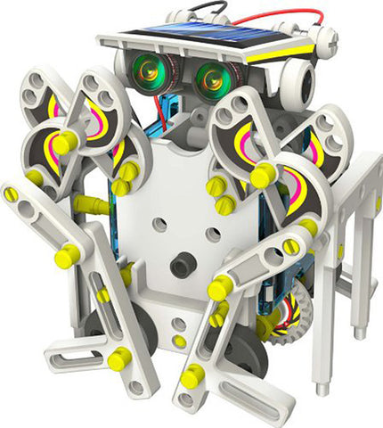 Image of The Solar Robot Buddy - 14 in 1 Solar Robot Educational Kit