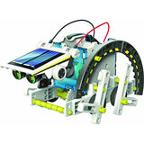 The Solar Robot Buddy - 14 in 1 Solar Robot Educational Kit