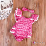 Cute Baby Girl's Summer Jumpsuit