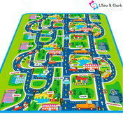 City Traffic - Nursery & Kids Room Playmat
