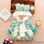 Cute Rabbit Baby Winter Coat