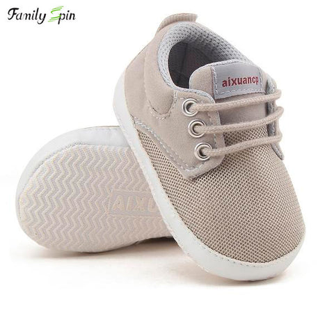 Image of Baby Boy's Serious Sneakers