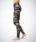 Horror Skull Leggings