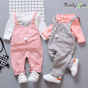 Kitty Cat Baby Girl's Spring Jumpsuit