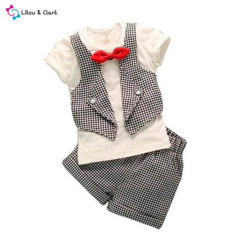 Smart Baby Boy's Summer Outfit