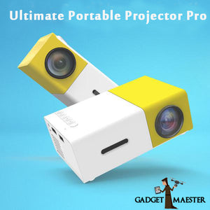 UltiHD™ Portable Projector Pro