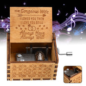 To My Gorgeous Wife - The Engraved Music Box