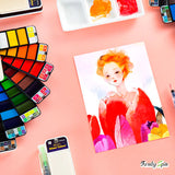 XS-4-Art Compact™ - The Superior Watercolor Paint Set