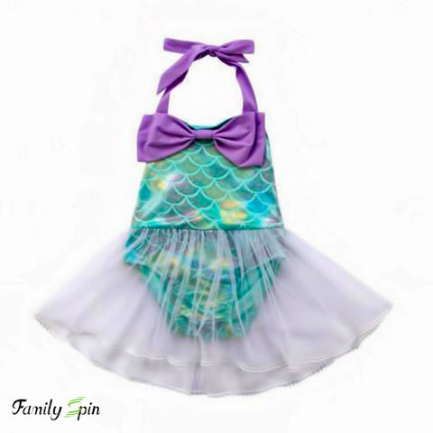 Baby Girl's Mermaid Swimsuit