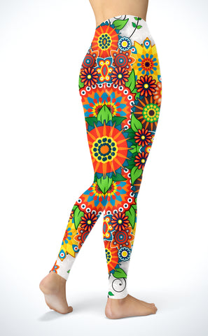 Image of Mandala Blossom Leggings