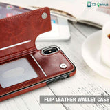 XS Genius™ - The Genuine Leather Wallet Case For Samsung Note 9