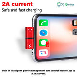 XS Genius™ Splitter - 2 In 1 Headphones & Charger Dual Port For iPhone XS/ XS MAX
