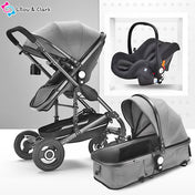Stroller-n-go™ 3 in 1 Combo Station - The Ultimate Pram & Travel Seat Stroller