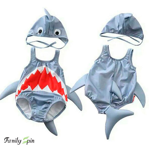 Cute Baby Shark Swimsuit