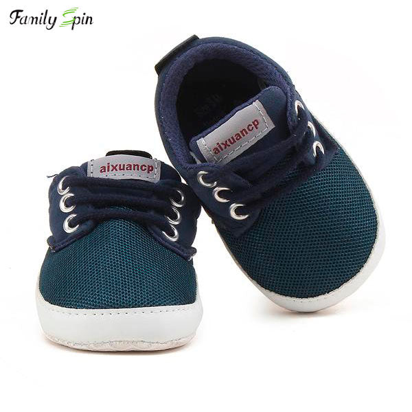 Baby Boy's Serious Sneakers