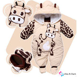 Baby Winter Animal Jumpsuit