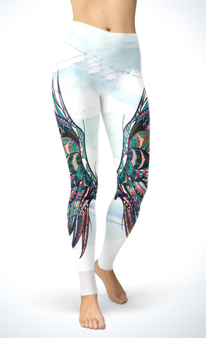 Boho Wings Leggings
