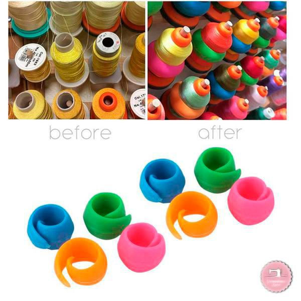 16pcs Thread Spool Huggers - Keep Spools From Unraveling