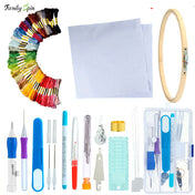 All-in-One Magic Embroidery Pen Tool Set + 50 Colors Threads