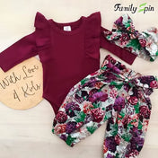 Arya Baby Girl's Floral Set