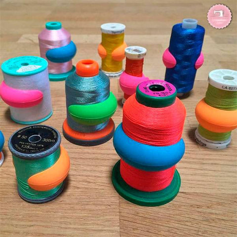 Image of 16pcs Thread Spool Huggers - Keep Spools From Unraveling