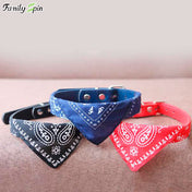 Boho Bandana Adjustable Cat Collar