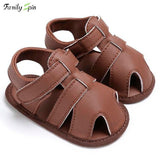 Baby Boy Leather Classic Walkers