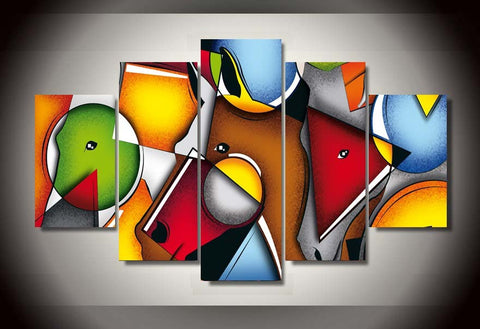 Abstract Geometric Shaped Art