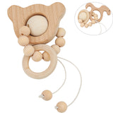 Animal Wooden Teether Montessori - Giveaway