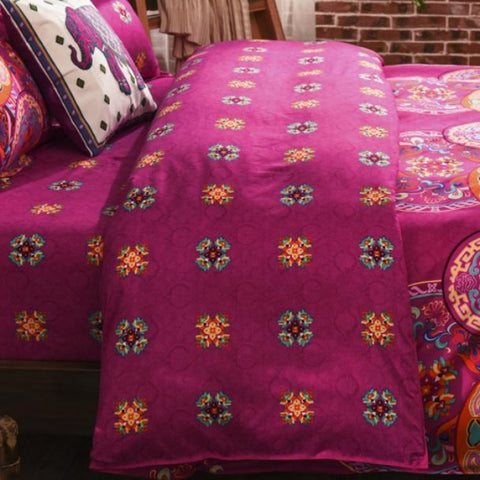 Bohemian Boho Mandala Cover Set - 3-4pcs