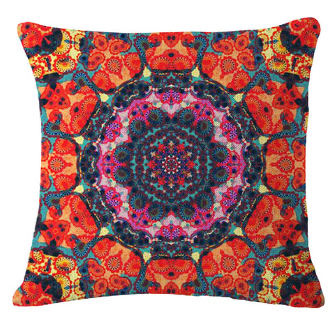 Bohemian Mandala Cushion Cover