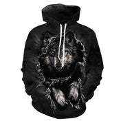 Wolf Escape Hoodie