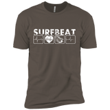 Surfbeat 4 Squares Next Level Premium Short Sleeve Tee