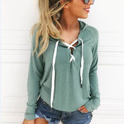 Lace Up Girls Hoodie