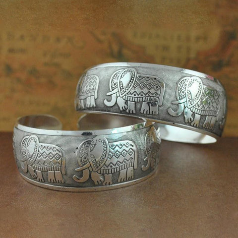 Image of Elephant Bangle Cuff - Free Offer - $0.00