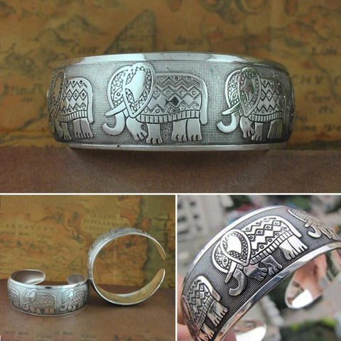 Beautiful Elephant Cuff