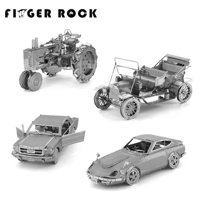 DIY 3D Vehicles Metal Puzzles