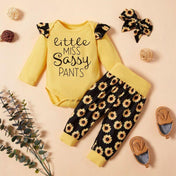 Little Miss Sassy Pants Girl's Outfit
