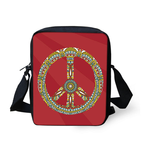 Peace & Love Messenger Bag