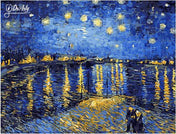 Starry Night - Dr-Arty™ - Paint By Numbers Set