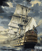 Ship At Sea - Dr-Arty™ - Paint By Numbers Set