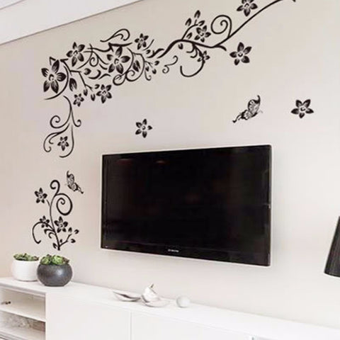 Image of Romantic Flower Wall Sticker