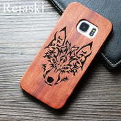 Wolverize - The Ultimate Wolf Wooden Case for Samsung Galaxy S9 / S9 Plus
