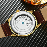 Olympos Leather Watch
