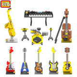 Musical Instruments Mini Diamond Building Blocks for all ages