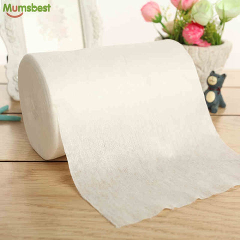 Biodegradable & Flushable 100% Bamboo Nappy Liners Roll - 100 Sheets