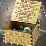 Daughter To Mom - The Engraved Music Box