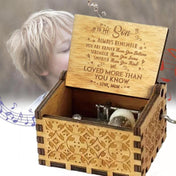Mom to Son - The Engraved Music Box