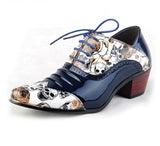 Men Oxford Style Skull