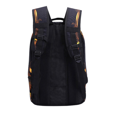 Image of 3D Skull Laptop Backpack